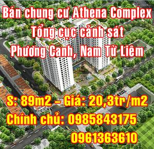 Bán chung cư Athena Complex Tổng cục cảnh sát, Nam Từ Liêm