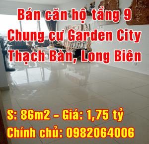Bán căn hộ chung cư cao cấp tại Garden City Thạch Bàn, Quận Long Biên, Hà Nội