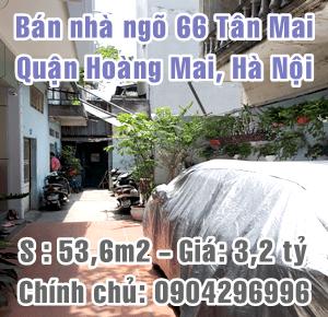 Chính chủ bán nhà số 8D/8/66 Phố Tân Mai, Quận Hoàng Mai, Hà Nội