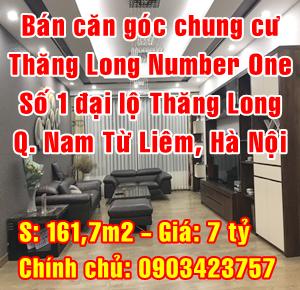 Bán căn hộ chung cư Thăng Long Number one, Trung Hòa, Quận Cầu Giấy