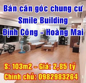 Chính chủ cần bán căn hộ cao cấp Smile Building Định Công, Quận Hoàng Mai