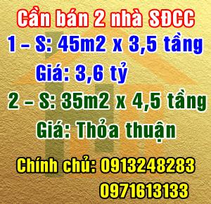 Chính chủ bán 2 nhà tại ngõ 30 Ngọc Thụy, Phường Ngọc Thụy, Quận Long Biên