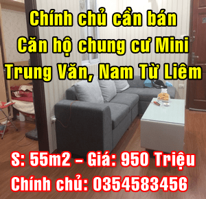Bán căn hộ chung cư mini  tại ngõ to Trung Văn, Quận Nam Từ Liêm